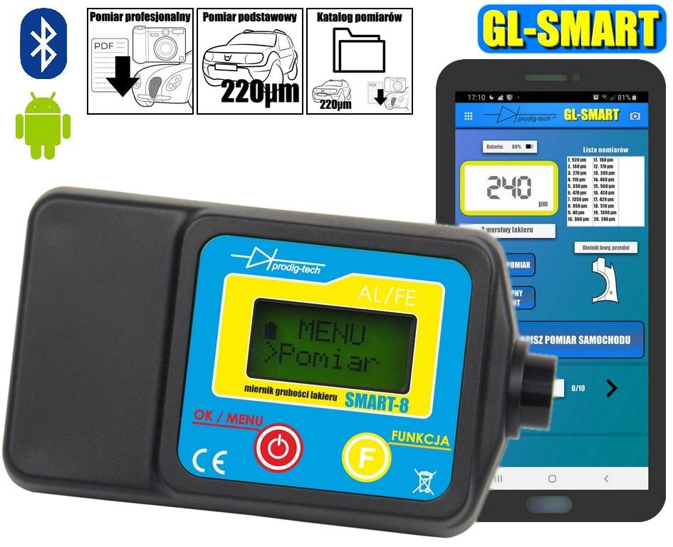 Miernik lakieru GL-SMART-8